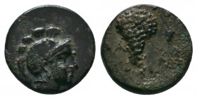 Cilicia, Soloi. Ca. 100-30 B.C. AE   Condition: Very Fine  Weight:2.02 gr Diameter: 13 mm