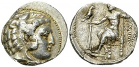 Philip III Arrhidaios AR Tetradrachm, Salamis 