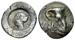 Phaistos AR Hemidrachm, 4th century BC 