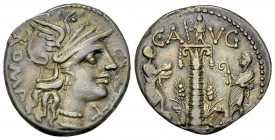 C. Minucius Augurinus AR Denarius, 135 BC 