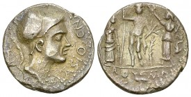 Cn. Blasio Cn. f. AR Denarius, 112 or 111 BC 