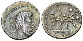 L. Titurius L. f. Sabinus AR Denarius, 89 BC 