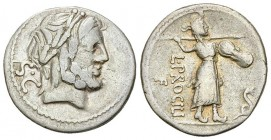 L. Procilius AR Denarius, 80 BC 
