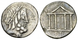 M. Volteius AR Denarius, 78 BC 