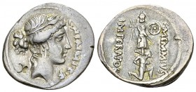 C. Memmius C.f. AR Denarius, 56 BC 