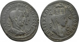 SELEUCIS & PIERIA. Antioch. Philip I 'the Arab', with Otacilia Severa (244-249). Ae.