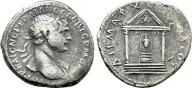 ARABIA. Bostra. Trajan (98-117). Tridrachm.