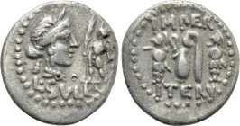 L. SULLA. Denarius (84-83 BC). Military mint moving with Sulla.