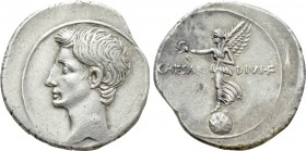 OCTAVIAN (31-30 BC). Denarius. Uncertain Italian mint, possibly Rome.