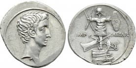 OCTAVIAN. Denarius (30-29 BC). Uncertain Italian mint, possibly Rome.