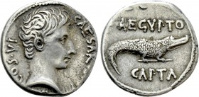 AUGUSTUS (27 BC-14 AD). Denarius. Uncertain eastern mint.