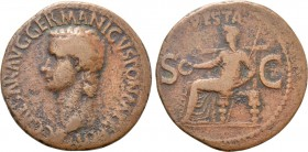 CALIGULA (37-41). As. Rome.
