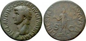 CLAUDIUS (41-54). As. Rome.