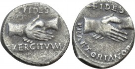 CIVIL WAR (68-69). Denarius. Uncertain mint, possibly in Southern Gaul.
