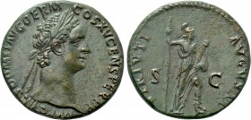 DOMITIAN (81-96). As. Rome.