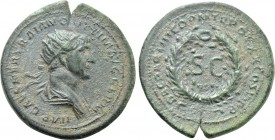 TRAJAN (98-117). As. Rome. Struck for use in the East.