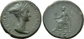 SABINA (Augusta, 128-137). As. Rome.