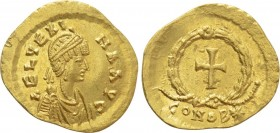 AELIA VERINA. Wife of Leo I (457-484). GOLD Tremissis. Constantinople.