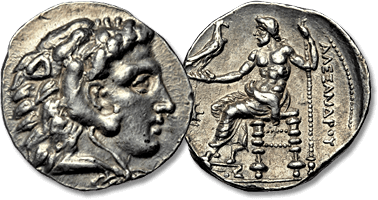 Lot 15. Kingdom of Macedon, Alexander III 'the Great' AR Tetradrachm. Soloi. circa 325-318 BC.